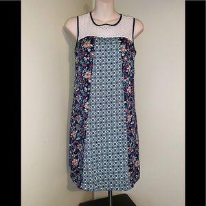 NWOT Beautiful floral boho tunic dress